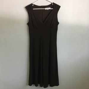 Isaac Mizrahi Brown A-line Dress Size 8